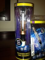 Sonic screwdriver by SolarGear079