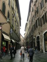 Streets of Lucca by LittleFireDragon