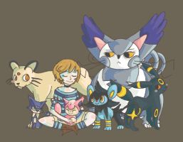 Pokemon Cat Trainer by leesers