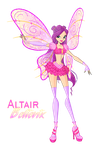 Winx:Altair Believix by DragonShinyFlame