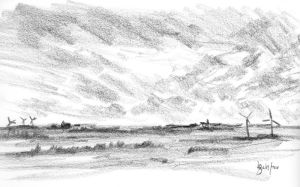 Sketch from the train 1 of 6 by dustdevil