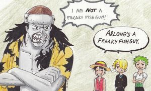 Freaky Fish Guy by A-A-Fresca