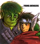 YOUNG AVENGERS by BACBAC-MIKI