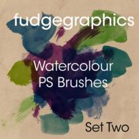 Watercolour brushes www.photoshop.cc by photoshopcc