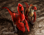 Utahraptor Art Drive Commission 1 by Viergacht
