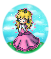 Chibi Peachy by Jrynkows