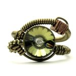 Steampunk Ring N by CatherinetteRings