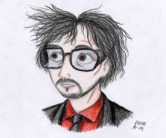 Mr Tim Burton by Madame-Kikue