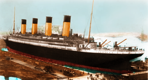 Thompson Dry-Dock, 1912 by RMS-OLYMPIC