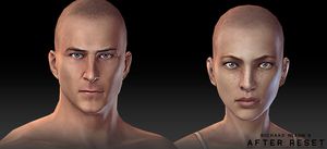 After Reset RPG models MAIN CHARACTERS by blackcloudstudios
