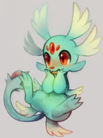 zelphin by extyrannomon