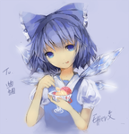 Cirno.. by Effier-sxy