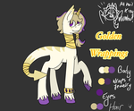Adopted Character - Golden Wrappings by MadJumpScares