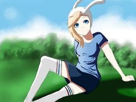 Fionna - Adventure Time :FINAL: by spenzbowart