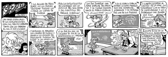 Dia de la independencia. by POLO-JASSO
