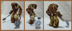 Bionicle MOC - Golem 1.2 by Alex-Darkrai