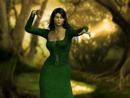 Enchantress of the Forest by Byakhee