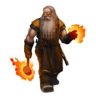 Dwarven Forgepriest by SirHanselot