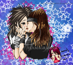 Just Kiss Me.... by Flamagram666