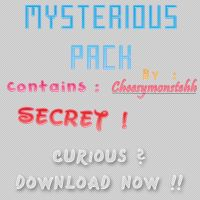 Mysterious Pack by siti97