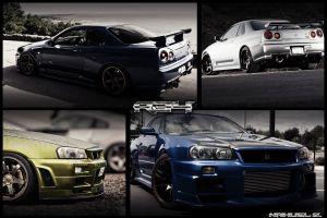 Nissan Skyline R34 by HorizzonDesign