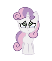 RQ: Sad sweetie belle by OzAngel