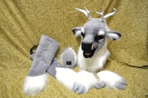 Grey Deer Partial For Sale! by temperance