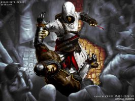 Assassin's Creed:Altair Kills by GoDivine