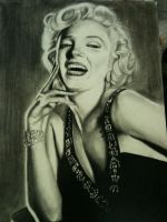 Marilyn Monroe by AIM-art