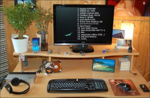 My Desk by Fabi-FR
