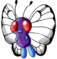 1st Flying - Butterfree by PlushBuddies