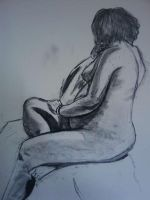 Figure Drawing- Rose by nalem