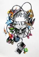 game over art by Phedre1985