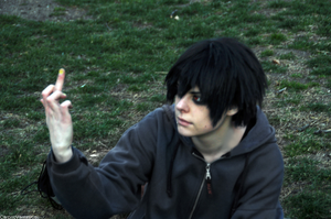 KARKAT VANTAS 4Chords Cosplay . Fuck off by CarcinoVantasKisu