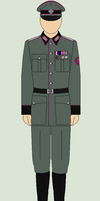 Decorated Fire Police Officer by bar27262