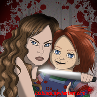 Chucky and Nica by LuxBlack