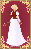 Odette { Red and White Dress } by kawaiibrit
