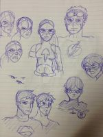 YJ Group Doodle by AtomicAzure