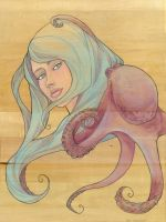 The Octopus Mermaid Series, 3 by khallion