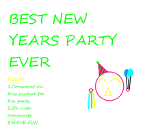 New Years Party EVERYONE IS INVITED by gabrielle44