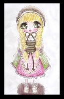 Adoptable: Porcelain Doll -CLOSED- by BrokenDoll777