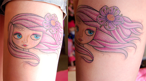 Blythe tattoo by lacerate666