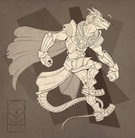 Iron Artist CO: Raygon by TheTundraGhost