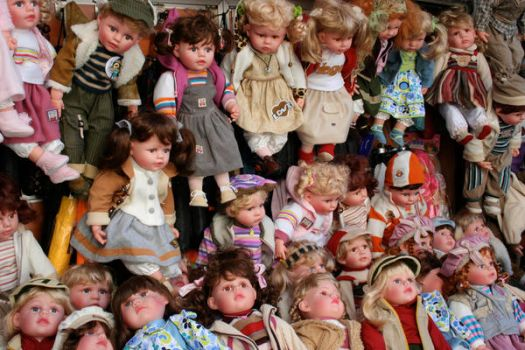 Dolls In Istanbul by Maralily