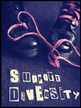 support diversity by SadLilElf