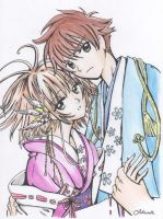 Sakura and Syaoran 5 - C by SakuraHirata
