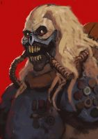 Immortan Joe by EdwardDelandreArt