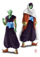 Piccolo Jr Redesign (23rd Tournament version) by WhysoGurin