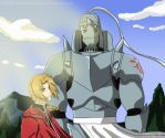 FMA - The Brothers Elric by UniverseDreams