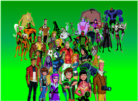 Ben 10 Omniverse and Family and Friends and Rivals by 9029561